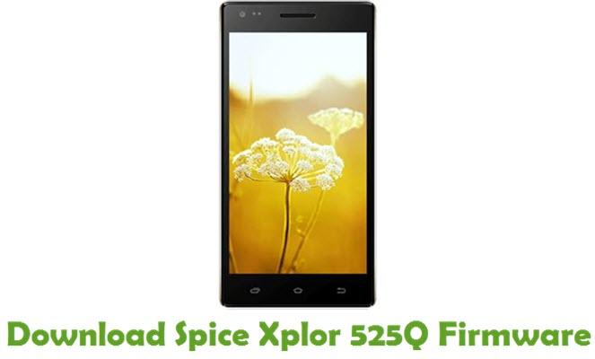 Download Spice Xplor 525Q Stock ROM