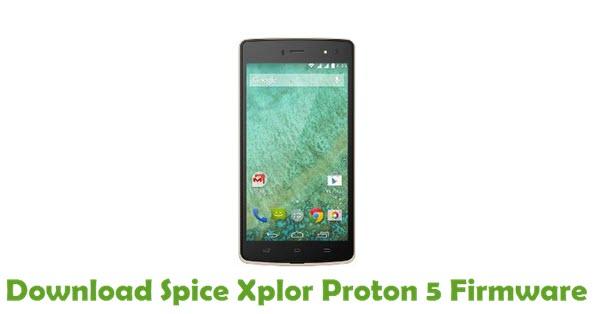 Download Spice Xplor Proton 5 Stock ROM