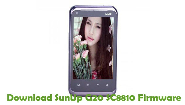 Download SunUp G20 SC8810 Firmware