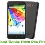 Tianhe H920 Plus Firmware