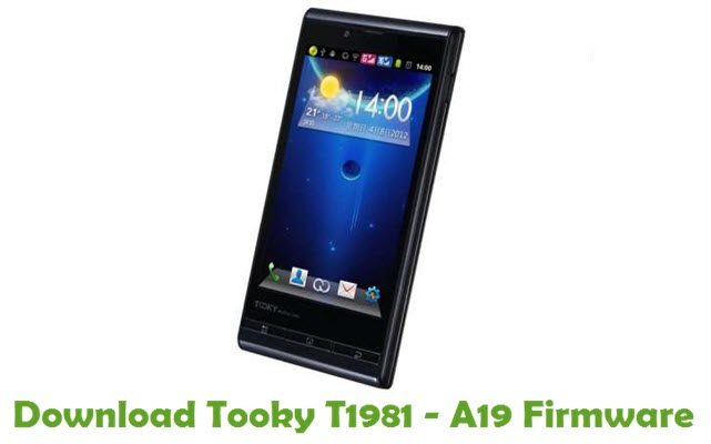 Download Tooky T1981 – A19 Firmware
