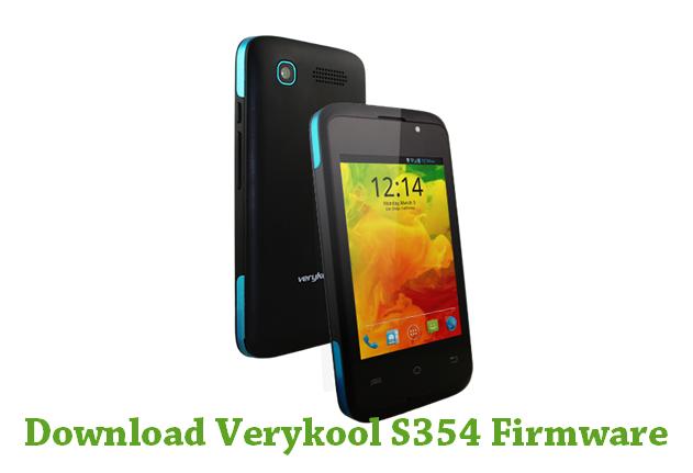 Download Verykool S354 Firmware