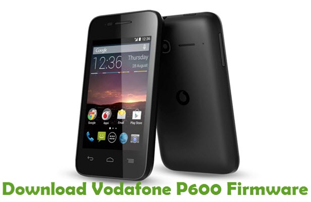 Download Vodafone P600 Firmware