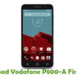 Vodafone P800-A Firmware
