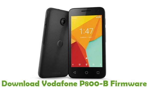 Download Vodafone P800-B Firmware