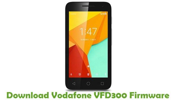 Download Vodafone VFD300 Stock ROM