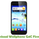 Wellphone G4C Firmware