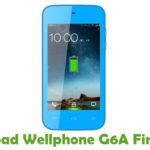 Wellphone G6A Firmware