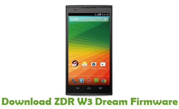Download ZDR W3 Dream Firmware