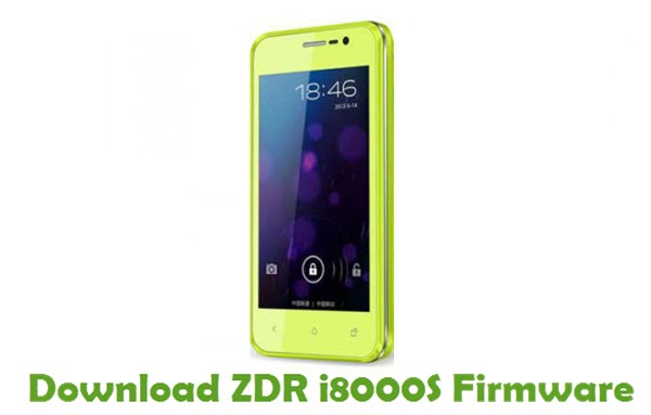 Download ZDR i8000S Firmware