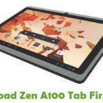 Zen A100 Tab Firmware