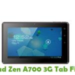 Zen A700 3G Tab Firmware