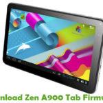 Zen A900 Tab Firmware