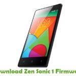 Zen Sonic 1 Firmware