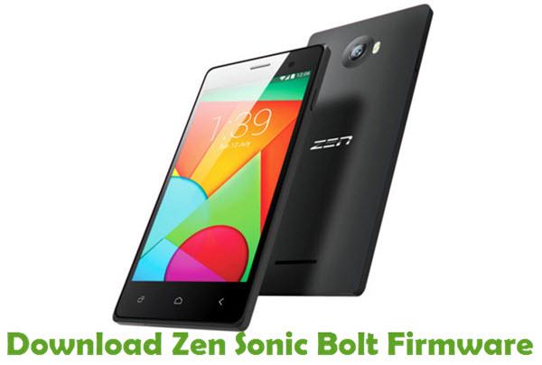 Download Zen Sonic Bolt Firmware