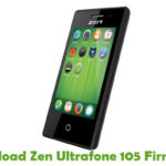 Zen Ultrafone 105 Firmware