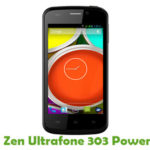 Zen Ultrafone 303 Power Firmware
