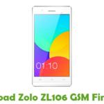 Zolo ZL106 GSM Firmware