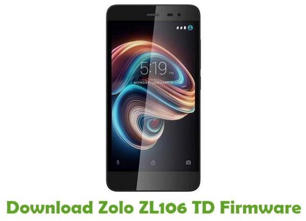 Download Zolo ZL106 TD Firmware