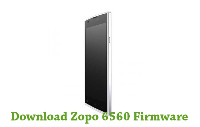 Download Zopo 6560 Firmware