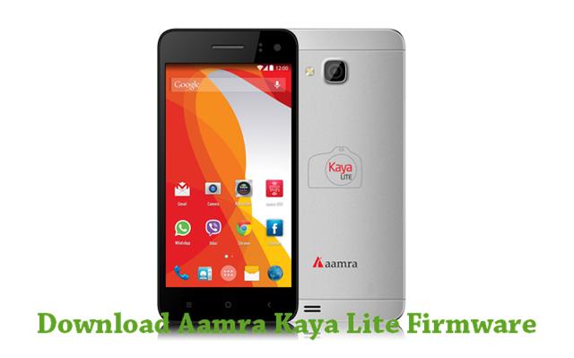 Download Aamra Kaya Lite Firmware