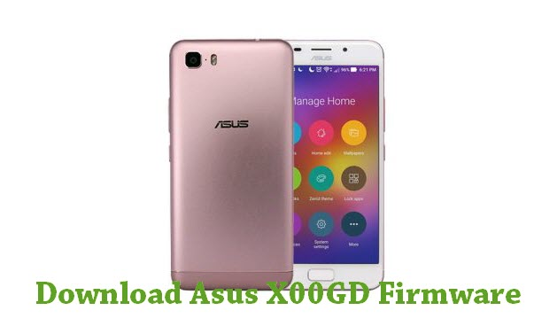 Download Asus X00GD Firmware
