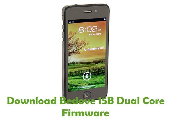 Download Bedove I5B Dual Core Firmware