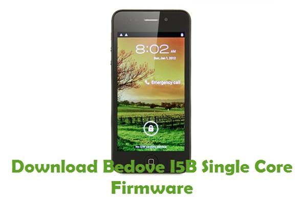 Download Bedove I5B Single Core Firmware