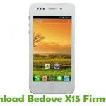 Bedove X15 Firmware