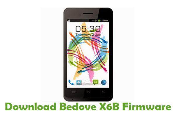 Download Bedove X6B Firmware