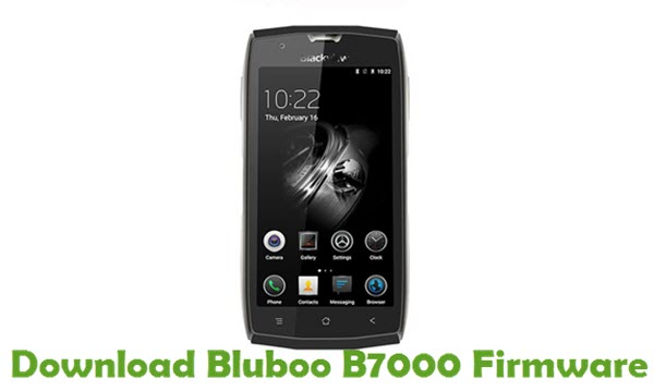 Download Bluboo B7000 Firmware