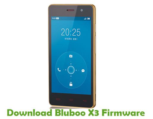 Download Bluboo X3 Firmware