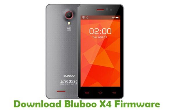 Download Bluboo X4 Firmware