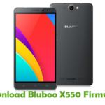 Bluboo X550 Firmware
