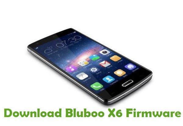 Download Bluboo X6 Firmware