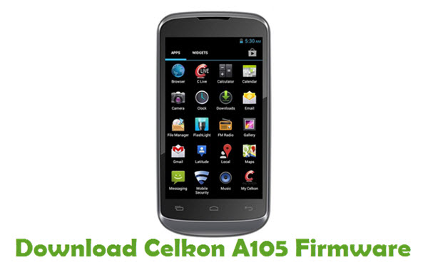 Download Celkon A105 Firmware