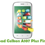 Celkon A107 Plus Firmware