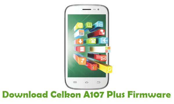 Download Celkon A107 Plus Firmware