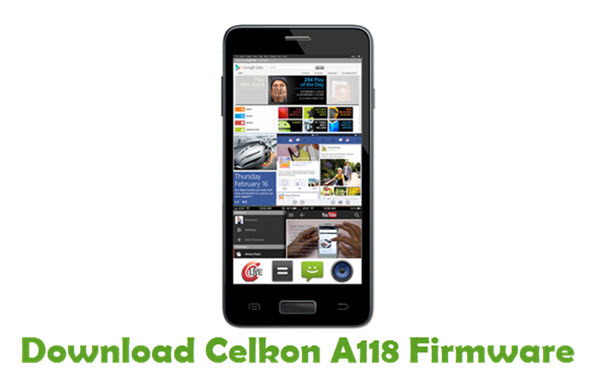 Download Celkon A118 Firmware