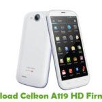 Celkon A119 HD Firmware