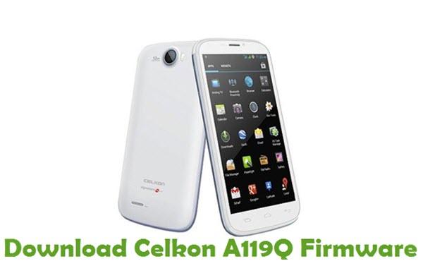 Download Celkon A119Q Firmware