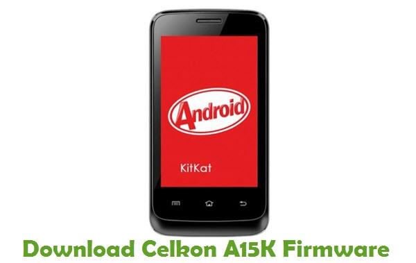 Download Celkon A15K Firmware