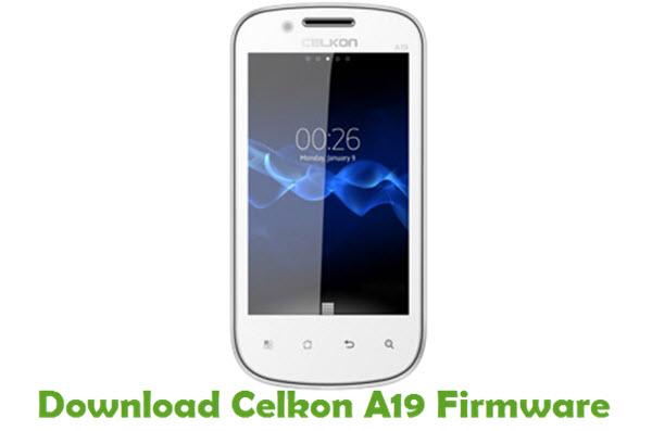Download Celkon A19 Firmware