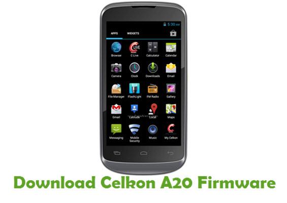 Download Celkon A20 Firmware