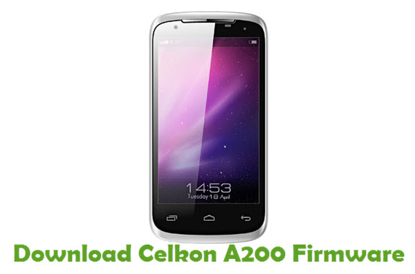 Download Celkon A200 Stock ROM