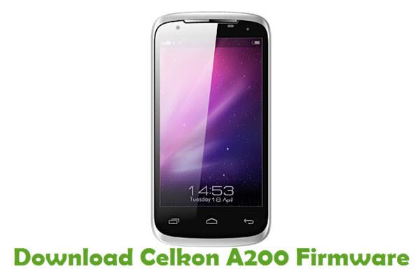 Download Celkon A200 Firmware