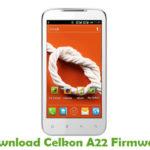 Celkon A22 Firmware