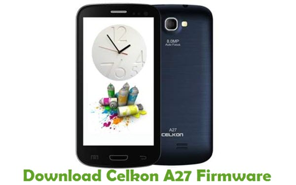 Download Celkon A27 Firmware