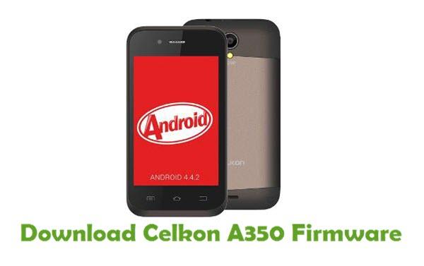 Download Celkon A350 Firmware