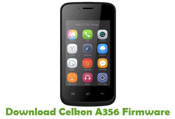 Download Celkon A356 Firmware